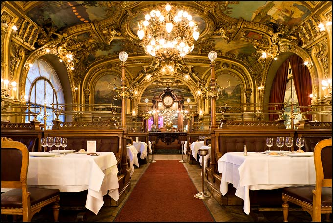 Le train bleu le joyau de la gare de lyon the gem of for 19th century french cuisine