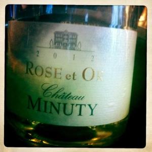 Cuvée Rosé et or Minuty