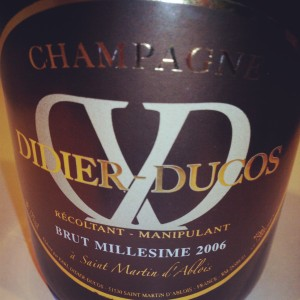 Didier-Ducos 2006 - Champagne