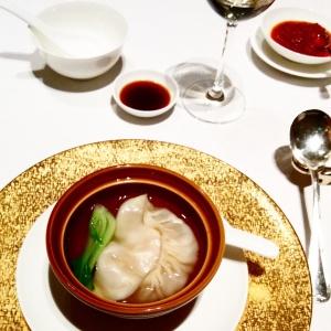 ravioli crabe bouillon Shang Palace Paris