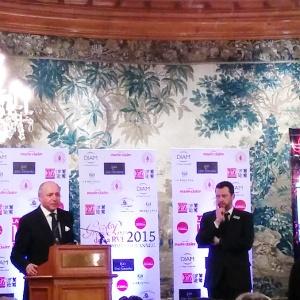 Laurent Fabius Homme de l'année RVF 2015