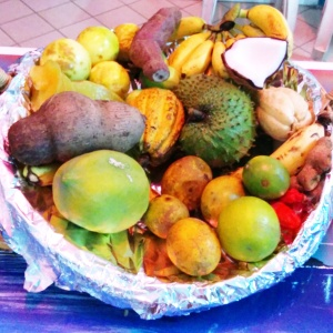 fruits exotiques les Saintes