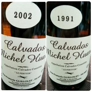 Calvados millésimés Huard
