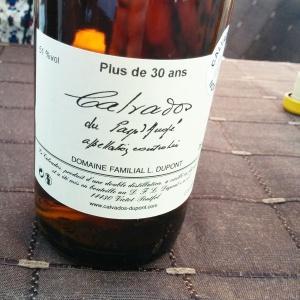 Calvados Brut de fût Dupont