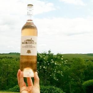 Rosé Château la Martinette Côtes de Provence foodwineandstyle