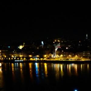 vue du toît de l'espace Porto Cruz