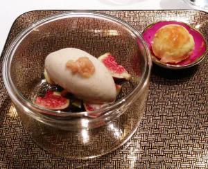 dessert shang palace figue citron vanille