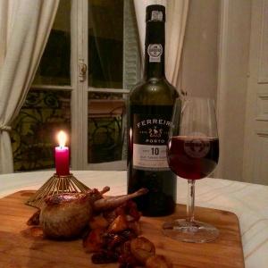 Porto tawny 10 ans Ferreira et caille farcie au foie gras