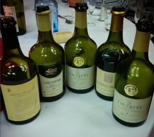 Clavelins - vin jaune