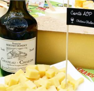 La Percée du vin jaune Lons le Saunier 2016 Jean Berthet-Bondet et comté