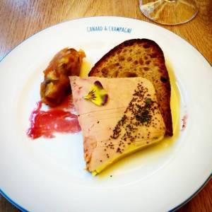 foie gras menu canard et champagne foodwineandstyle
